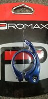 Promax QR-1 Quick Release Seat Clamp 31.8mm Blue