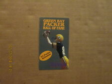 NFL Green Bay Packers Vintage 1992 Hall Of Fame Football Pocket Schedule
