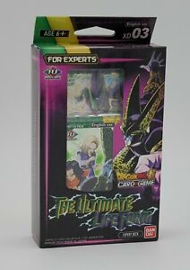 Dragon Ball Super CCG XD03 The Ultimate Life Form Expert Deck New