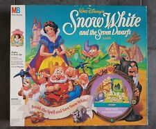 Vintage JEUX 1992 Mo Blanche Neige et les sept nains Board Game