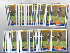 New listing (72) GARY SHEFFIELD 1989 SCORE BASEBALL ROOKIE CARD LOT #625 - BREWERS RC (JE2)