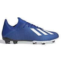 Adidas X 19.3 FG Mens Firm Ground Soccer Cleats - Black / Black - PICK SIZE