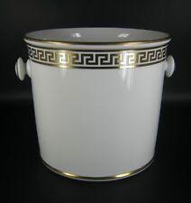 Rosenthal porcelana maceta/sobre olla serie Meandre d 'or gianni versace