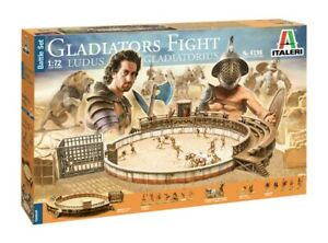 GLADIATORS FIGHT	6196 BATTLE SET ITALERI 1:72 NEW 2020 !