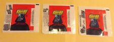 Lot Of 3 1980 Topps Star Wars The Empire Strikes Back Trading Card Wrappers
