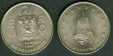 2 EURO  TEMPORAIRE DES VILLE DE PELISSANNE 1997  ETAT  SUP