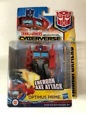Optimus Prime Transformers Cyberverse Warrior Class Series Action Figure Toy