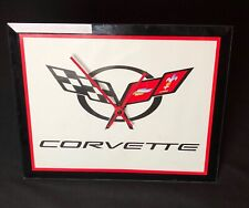 Collectible Chevrolet Corvette Clock - Wise Battery Operated Made In The U.S.A.
