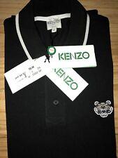 Kenzo Herren Polo Shirt Schwarz/ Black  Gr S Original NEU m. etikett