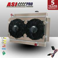 3Cores Radiator+Fan Shroud+Relay Kit For Holden HG HT HK HQ HJ HX HZ Chevy V8 MT