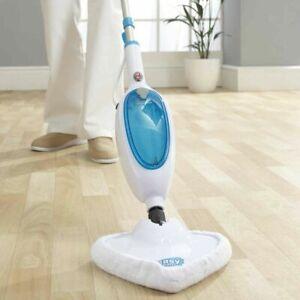 EasySteam Steam Mop Cleaner 1300W Handheld Carpet Tile Floor Washer & 2 Cloths
