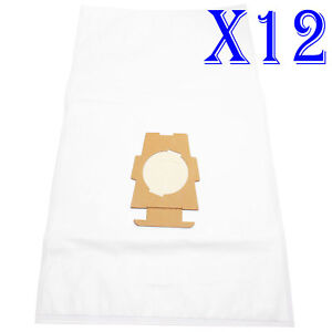 12x Vacuum Cleaner Bags For Kirby Sentria Micron Magic STYLE F G10 204808