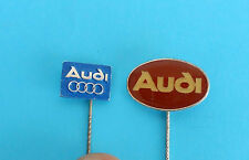 AUDI - lot of 2. vintage pins * Germany car automobil pin badge anstecknadel