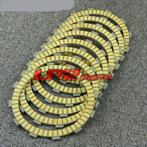 Clutch Friction Plate Discs for Honda VTX1800F/N/R/S/T/C Cast Spoke 02-08