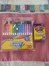 Cra Z art Kids School Markers And Crayons Set Back to school New