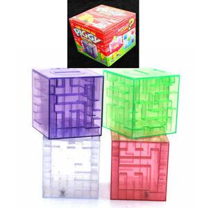 Plastic Money Maze Bank Saving Coin Gift Saver Box 3D Puzzle Game gift box