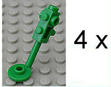 LEGO - 4 x Metalldetektor grün / Green Metal Detector / 4479 NEUWARE
