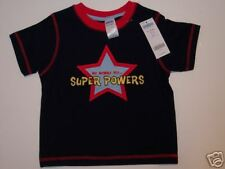 NWT Gymboree 18-24 Months My Mommy Has Super Powers Navy Super Mom Tee Shirt