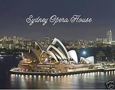 Australia - SYDNEY OPERA HOUSE (night) - Fridge Magnet