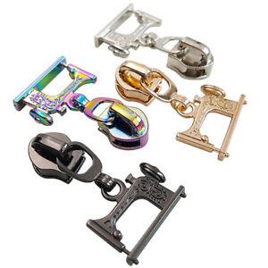 Sewing machine zip slider #5 Zipper Pull Bag Making Hardware Novelty Zip Pull
