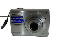 Olympus FE-210 7.1MP 3x Optical Zoom Compact Digital Camera - Silver 1GB XD Card