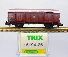 230 Minitrix Spur N Ladegut Selbstentladewagen 15194 15041 Schotter dunkelgrau