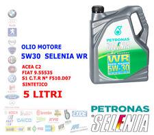 OLIO MOTORE AUTO DIESEL SELENIA WR 5W30 5 LT ACEA C2 SINTETICO 9.55535