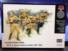KIT MAQUETA INFANTERIA SOVIETICA EN ACCION KIT NO.2 1:35 MASTER BOX LTD MB3532