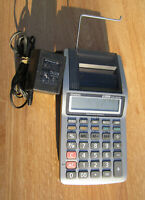 Casio HR-8TM Desktop PRINTING CALCULATOR PAPER RECEIPT with Power Cord ~ Tested!