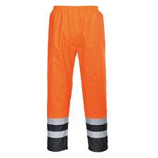 Portwest Hombre Alta Visibilidad Dos Tonos Traffic Pantalones multicolor y S486