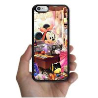 iPhone X 8 8 Plus 7 7 Plus 6 6s SE 5c 5s Disney Funny Minnie Mouse Bumper Case
