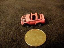 VINTAGE MICRO MACHINES PINK '70'S CAMARO GALOOB 1986 #118