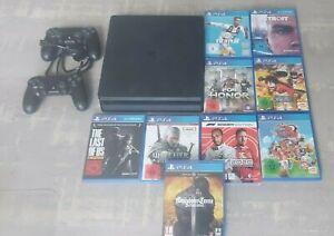 Playstation 4 Slim 1tb + 10 Spiele