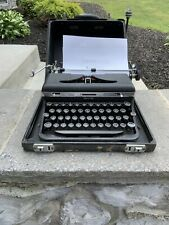 vintage royal typewriter Touch Control Works