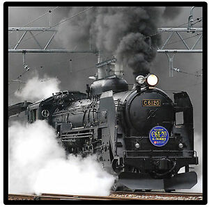 STEAM TRAIN - LOCOMOTIVE - SET OF FUN COASTERS - GIFT/ PRESENT/ BIRTHDAY - NEW