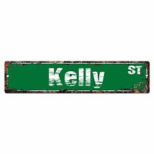 SMNS0248 KELLY Street Chic Sign Home Man Cave Wall Decor Birthday Gift
