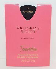 Neuf VICTORIA Secret Tentation Taille de L'Échantillon Parfum Brume