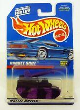 HOT WHEELS ROCKET SHOT #491 Die-Cast Tank MOC COMPLETE 1997