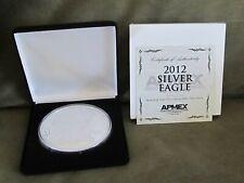 2012 Giant Silver Eagle 4 Troy oz .999 Silver Coin - COA