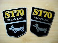 2 Emblem FRAME Aluminum HONDA DAX 70 ST70 // Decal // A pair