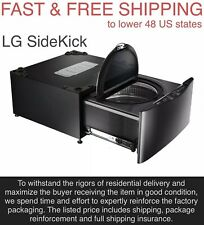 FREE SHIPPING New OEM LG SideKick 1-cu ft 27-in Pedestal Washer Black Stainless