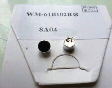 NEW 2pcs Panasonic WM-61B Electret Condenser MIC Capsule Microphone Cartridge