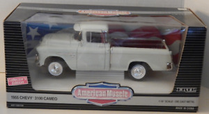 1955 Chevy 3100 Cameo Sport Truck Ertl American Muscle Collector's Edition