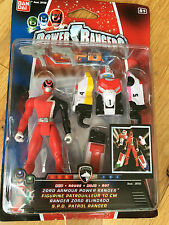 Power rangers SPD RED power up megazord armour ranger - New Sealed