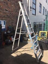 Zarges Professional 2.9 Metre Aluminium Step Ladder - 10 Treads