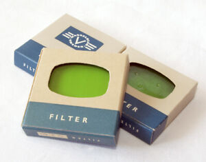 3 boxed, brand new Hasselblad Green filters for 1000F-1600F