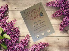 10 Personalised handmade Change of Address New Home House Moving Cards AC12