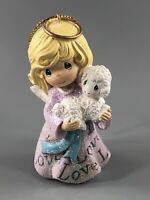 Precious Moments 2012 Angel With Lamb Ornament ~ Very Nice ~ Rare!