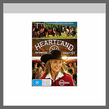 "Heartland Complete Season Series 1, 2, 3, 4 & 5 DVD Box Set R4 ""Clearance"" New"