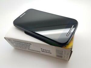 Working VGC Boxed Motorola Moto E1 (Tesco Mobile) 4GB Black Smartphone